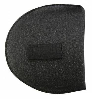 Плечевые накладки Hobby & Pro, втачные на липучке, обшитые, цвет: черный, размер ВК - 18/А, 2 шт686147Плечевые накладки Hobby & Pro выполнены из поролона и используются при пошиве блузок и платьев из легких тканей с втачной формой рукава. Они не соскальзывают с плеч, благодаря застежке-липучке. Края накладок обшитые.
