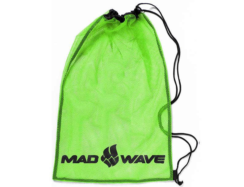 Мешок-сетка для инвентаря Mad Wave, цвет: зеленый, 65 см х 50 см10015769Вентилируемый мешок из сетчатой ткани Mad Wave предназначен для хранения мокрого инвентаря и спортивной одежды. Мешок фиксируется плотным шнуром, который одновременно служит лямками для переноски на спине. Материал не впитывает воду и быстро сохнет.