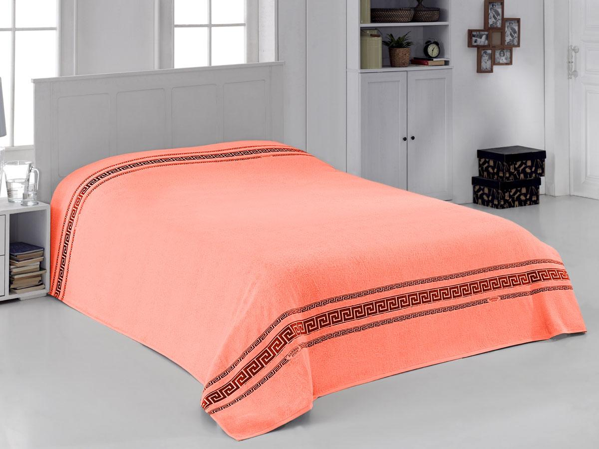 Простыня махровая Coronet Greece, цвет: оранжевый, 200 х 220 смК-МПР-8020-09-05Мягкая махровая простыня Coronet Greece, выполненная из натуральных бамбуковых волокон, удивит Вас блеском и мягкостью. Простыня дарит нежное шелковистое прикосновение, обладает легкостью и высокой гигроскопичностью. Сдержанный дизайн выглядит очень уютным и домашним, он создаст в Вашем доме волшебную атмосферу тепла и уюта. Махровая простыня Coronet Greece станет достойным выбором для вас и приятным подарком для Ваших близких.