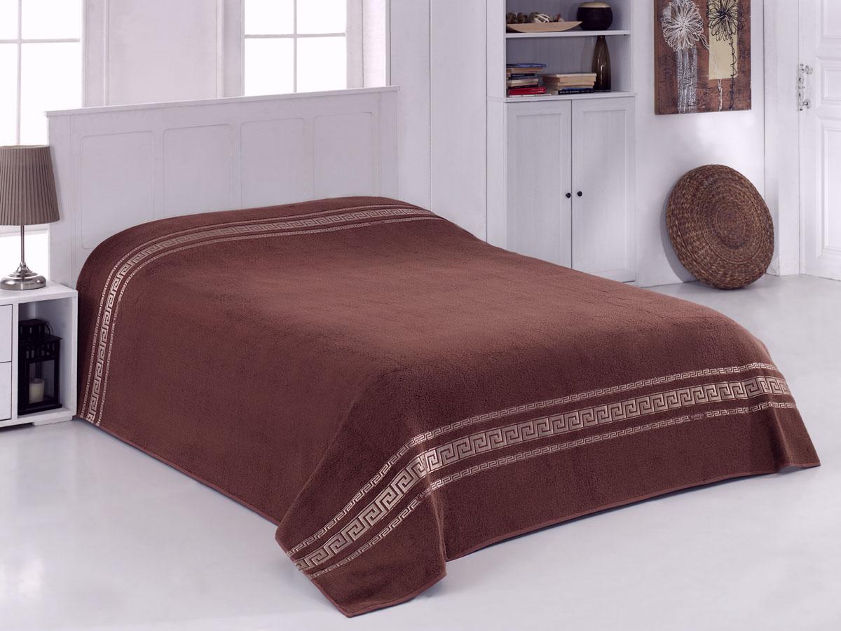 Простыня махровая Coronet Greece, цвет: коричневый, 200 х 220 смК-МПР-8020-09-06Мягкая махровая простыня Coronet Greece, выполненная из натуральных бамбуковых волокон, удивит Вас блеском и мягкостью. Простыня дарит нежное шелковистое прикосновение, обладает легкостью и высокой гигроскопичностью. Сдержанный дизайн выглядит очень уютным и домашним, он создаст в Вашем доме волшебную атмосферу тепла и уюта. Махровая простыня Coronet Greece станет достойным выбором для вас и приятным подарком для Ваших близких.