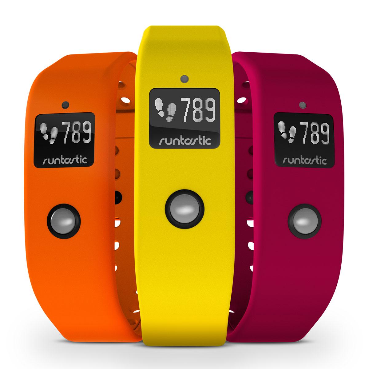 Runtastic Комплект ремней для Runtastic Orbit, цвет: оранжевый, желтый, розовый
