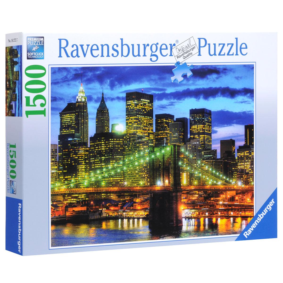 Ravensburger Небоскребы Нью-Йорка. Пазл, 1500 элементов