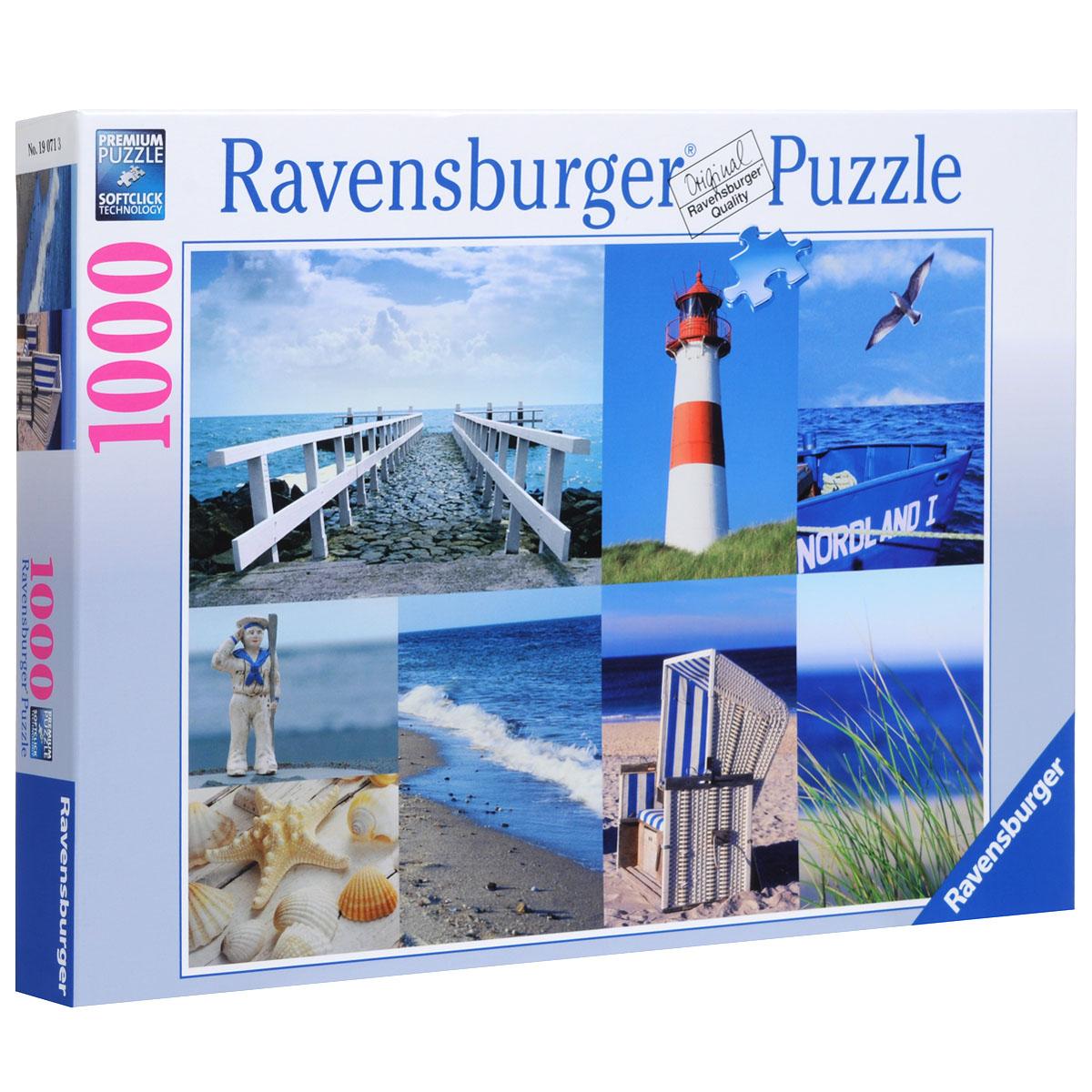Ravensburger Морской пейзаж. Пазл, 1000 элементов
