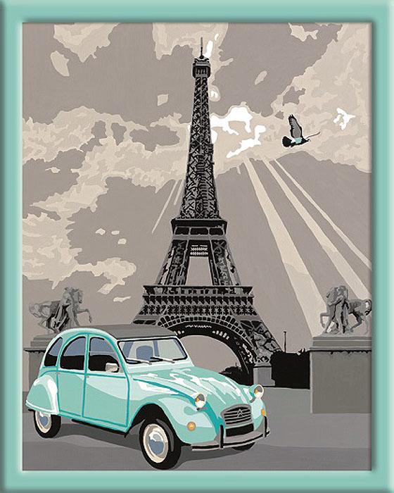 Ravensburger Раскрашивание по номерам Париж28410Раскраска Ravensburger Париж 28353 поможет вашему ребенку увлекательно и интересно провести время. Рисовать с набором очень легко: нужно просто наносить краску в соответствии с номером. Готовая картинка станет отличным украшением интерьера или хэнд-мейд подарком.