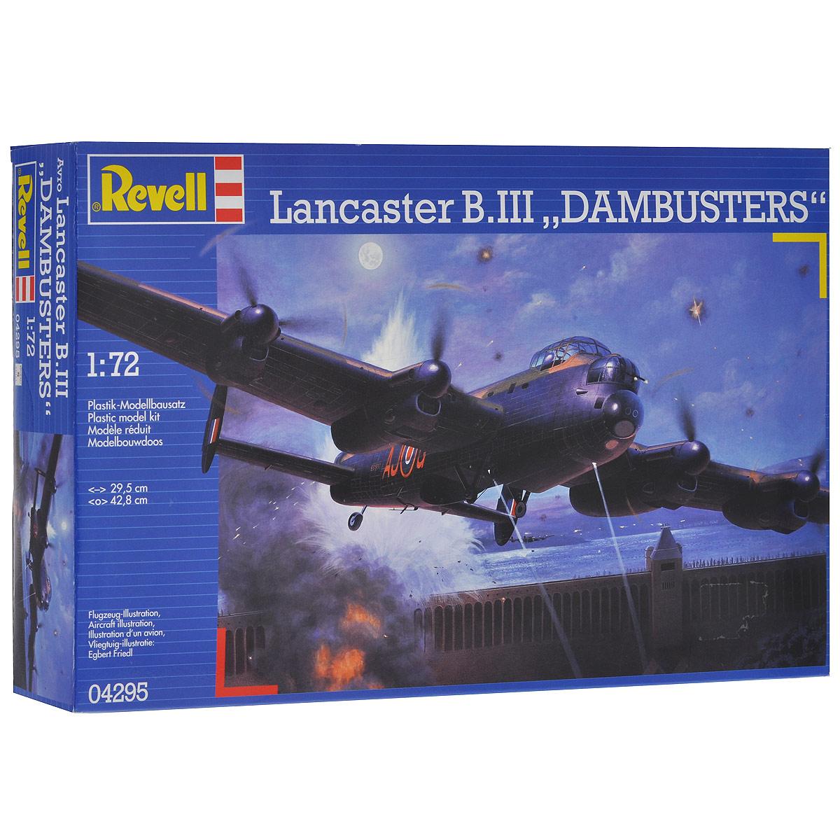 Сборная модель Revell Бомбардировщик Lancaster Dam Busters4295Сборная модель Revell Бомбардировщик Lancaster Dam Busters поможет вам и вашему ребенку придумать увлекательное занятие на долгое время. Набор включает в себя 224 пластиковых элемента, из которых можно собрать достоверную уменьшенную копию одноименного самолета-бомбардировщика. Самолеты данного типа совершили более 150 тысяч боевых вылетов. Всего ими было сброшено около 600 тысяч тонн бомб. Известность Ланкастеру принесла операция против немецких плотин в Руре, в которой были задействованы эти машины. Всего было произведено 7377 экземпляров. В ряде стран самолет состоял на вооружении до 1963 года. Также в наборе схематичная инструкция по сборке. Процесс сборки развивает интеллектуальные и инструментальные способности, воображение и конструктивное мышление, а также прививает практические навыки работы со схемами и чертежами. Уровень сложности: 5. УВАЖАЕМЫЕ КЛИЕНТЫ! Обращаем ваше внимание на тот факт, что элементы для сборки не покрашены. Клей и...