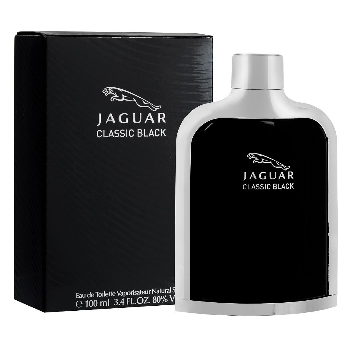 Jaguar Туалетная вода Classic Black, мужская, 100 млJ370314Туалетная вода Classic Black от Jaguar - изысканный роскошный аромат из коллекции Classic. Скорость и сдержанность, чувственность и сексуальность привлекают и интересуют настоящих мужчин, пользующихся успехом как у женщин, так и в кругу друзей, коллег и деловых партнеров. Классификация аромата : восточно-фужерный. Пирамида аромата : Верхние ноты: горький апельсин, мандарин, зеленое яблоко. Ноты сердца: герань, кардамон, чай, морская вода, мускатный орех. Ноты шлейфа: ветивер, сандаловое дерево, дубовый мох, кедр, тонка бобы, белый мускус. Ключевые слова Динамичный, экспрессивный!