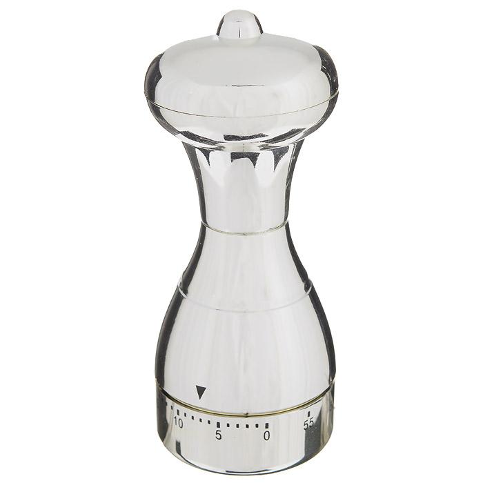 Таймер кухонный Перцемолка, на 60 минут820-005Кухонный таймер Перцемолка изготовлен из цветного пластика. Таймер выполнен в виде перцемолки. Максимальное время, на которое вы можете поставить таймер, составляет 60 минут. После того, как время истечет, таймер громко зазвенит. Оригинальный дизайн таймера украсит интерьер любой современной кухни, и теперь вы сможете без труда вскипятить молоко, отварить пельмени или вовремя вынуть из духовки аппетитный пирог.