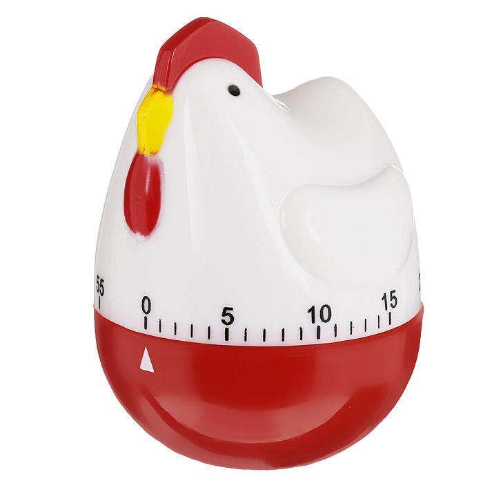 Таймер кухонный Курица, на 60 минут820-015Кухонный таймер Курица изготовлен из цветного пластика. Таймер выполнен в виде курицы. Максимальное время, на которое вы можете поставить таймер, составляет 60 минут. После того, как время истечет, таймер громко зазвенит. Оригинальный дизайн таймера украсит интерьер любой современной кухни, и теперь вы сможете без труда вскипятить молоко, отварить пельмени или вовремя вынуть из духовки аппетитный пирог.
