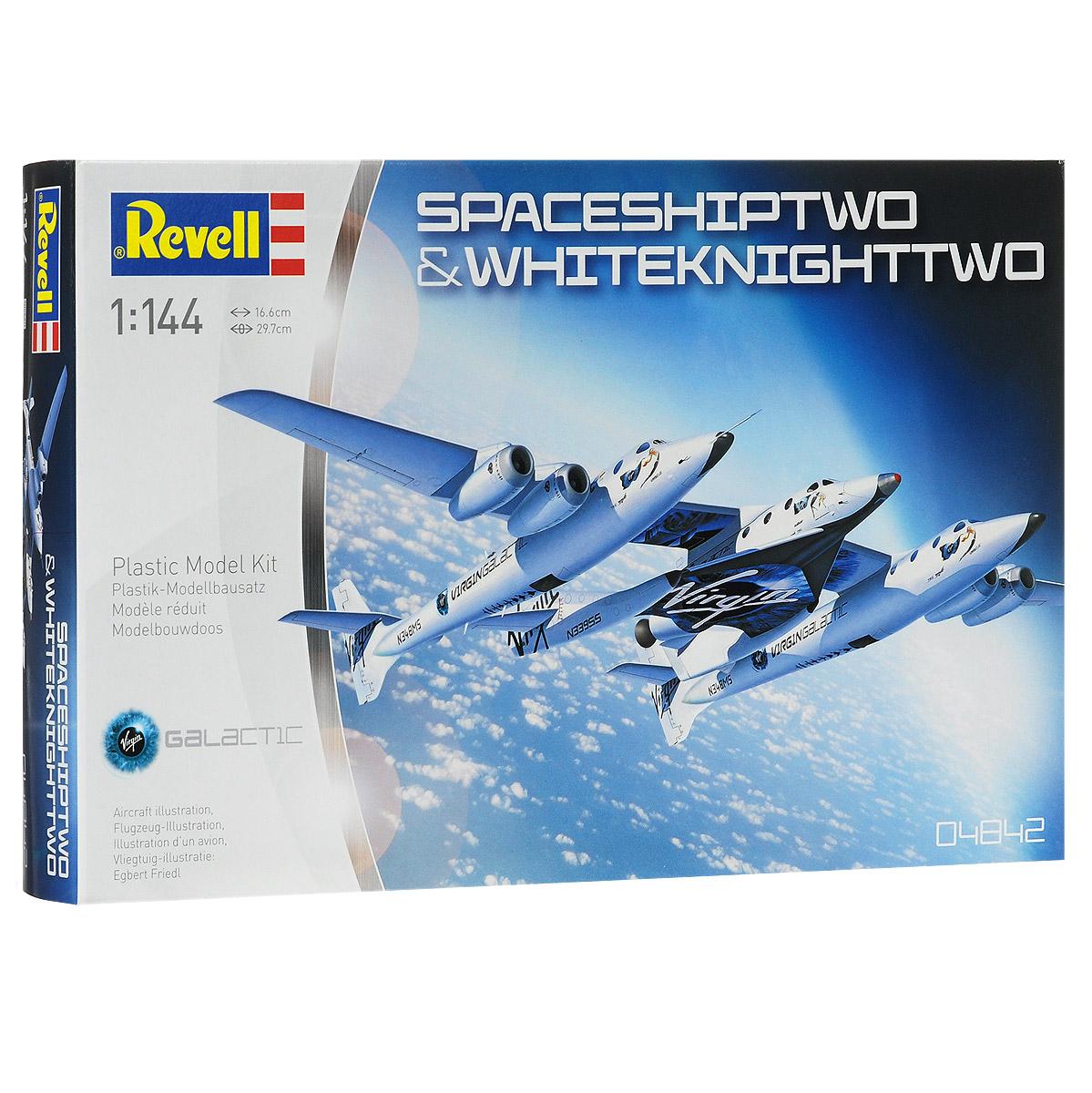 "Сборная модель Revell ""SpaceShipTwo and WhiteKnightTwo"""