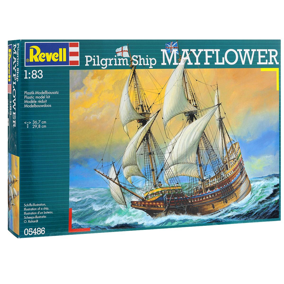 Сборная модель Revell Корабль Mayflower05486Сборная модель Revell Корабль Mayflower поможет вам и вашему ребенку придумать увлекательное занятие на долгое время. Набор включает в себя 369 пластиковых элементов, из которых можно собрать достоверную уменьшенную копию одноименного корабля. Шестого сентября 1620 года на борту этого торгового корабля из Англии к берегам Северной Америки отправился отряд пилигримов. Через 67 дней переселенцы основали первую колонию на берегу американского Плимута. На корабле лидерами пилигримов Уильямом Брюстерем и Уильямом Брэдфордом было подписано Мейфлауэрское соглашение, ставшее руководством для Плимутской колонии. Также в наборе схематичная инструкция по сборке. Процесс сборки развивает интеллектуальные и инструментальные способности, воображение и конструктивное мышление, а также прививает практические навыки работы со схемами и чертежами. Уровень сложности: 5. УВАЖАЕМЫЕ КЛИЕНТЫ! Обращаем ваше внимание на тот факт, что элементы для сборки не...