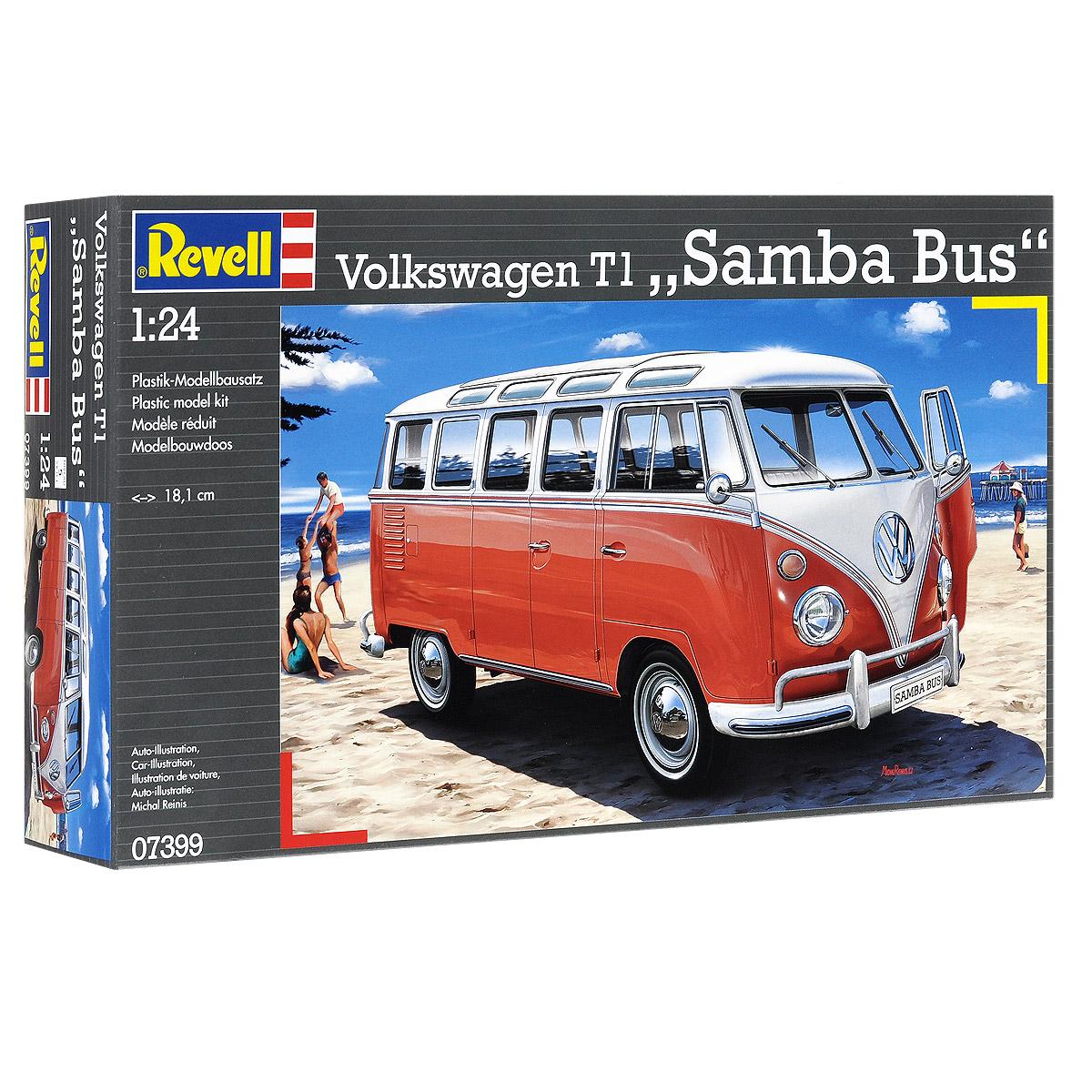 Сборная модель revell автомобиль volkswagen t1