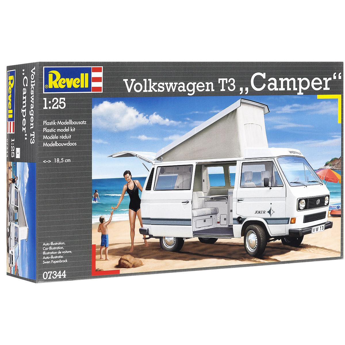 """Сборная модель Revell """"Автомобиль Volkswagen T3 """"Camper"""""""