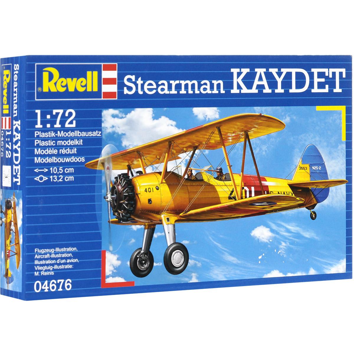 Сборная модель Revell Самолет Stearman Kaydet04676Сборная модель Revell Самолет Stearman Kaydet поможет вам и вашему ребенку придумать увлекательное занятие на долгое время. Набор включает в себя 29 пластиковых элементов, из которых можно собрать достоверную уменьшенную копию одноименного самолета. Самолет Stearman Kaydet был построен авиастроительной корпорацией Стирман (после 1934 года - Боинг). Модель Stearman Kaydet была разработана специально для нужд ВВС США. Мощность двигателя равнялась 163 кВт и самолет мог развивать скорость до 200 км/ч. Также в наборе схематичная инструкция по сборке. Процесс сборки развивает интеллектуальные и инструментальные способности, воображение и конструктивное мышление, а также прививает практические навыки работы со схемами и чертежами. Уровень сложности: 3. УВАЖАЕМЫЕ КЛИЕНТЫ! Обращаем ваше внимание на тот факт, что элементы для сборки не покрашены. Клей и краски в комплект не входят.