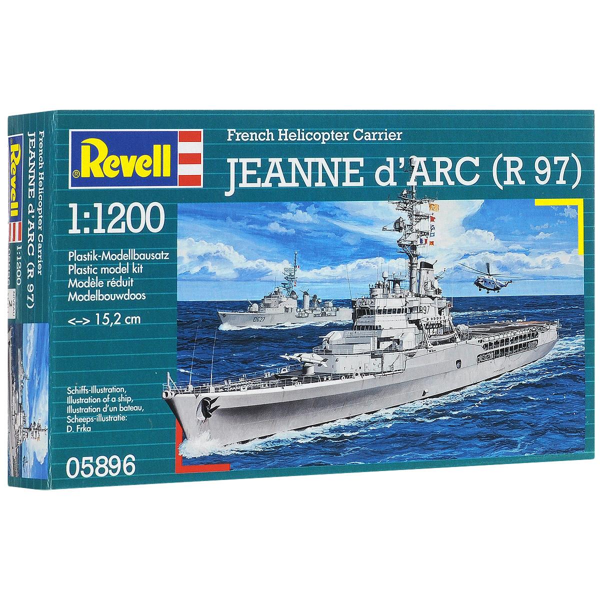 "Сборная модель Revell ""Крейсер-вертолетоносец Jeanne d'Ark (R 97)"""