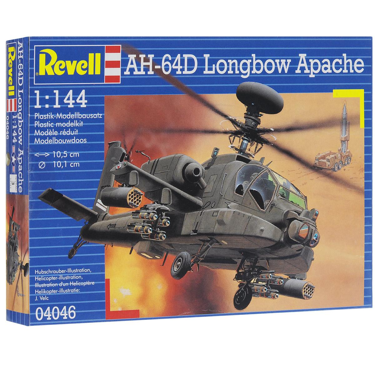 Сборная модель Revell Вертолет AH-64D longbow Apache04046Сборная модель Revell Вертолет AH-64D longbow Apache поможет вам и вашему ребенку придумать увлекательное занятие на долгое время. Набор включает в себя 79 пластиковых элементов, из которых можно собрать достоверную уменьшенную копию одноименного вертолета. Вертолет AH-64D longbow Apache был разработан в 1975 году для замены своего предшественника AH-1 Кобра. C 1984 года AH-64D стал основным вертолетом армии США. Вооружение машины состоит из 30-мм пушки, 14 противотанковых ракет и 4 установок с неуправляемыми ракетами. В экипаж входят два человека. С 1989 года вертолет успешно применяется в военных действиях. Боевое крещение вертолета состоялось в ходе американского вторжения в Панаму. Затем машина применялась во время Бури в пустыне и войны в Югославии. С 2001 года AH-64D активно применяются в боях в Афганистане. Также в наборе схематичная инструкция по сборке. Процесс сборки развивает интеллектуальные и инструментальные способности, воображение и...