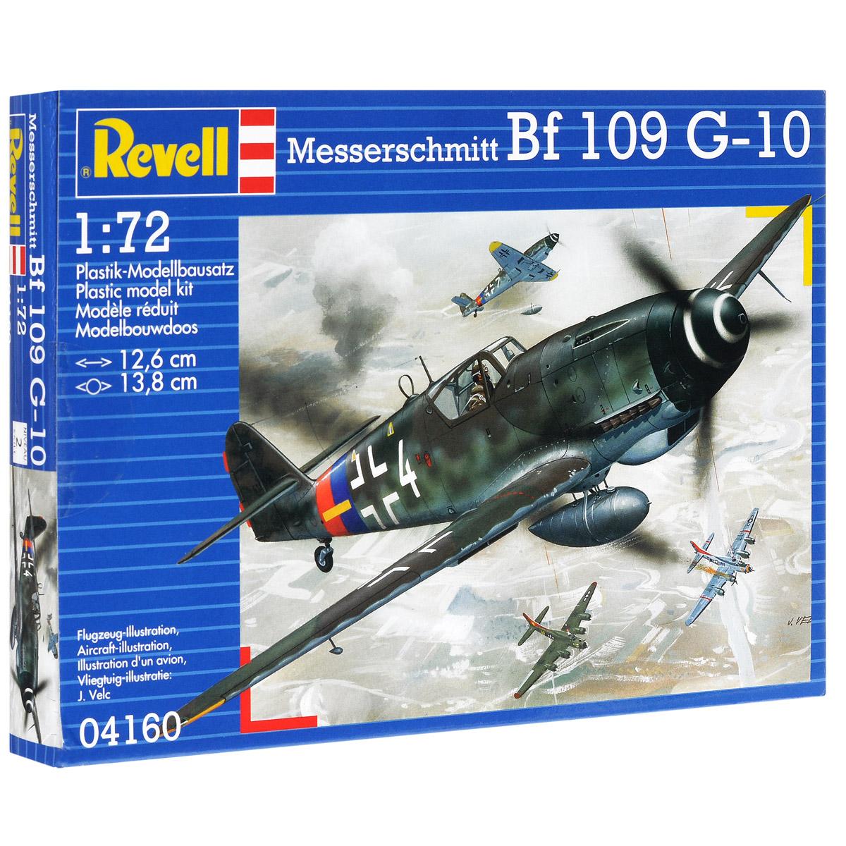 Сборная модель Revell Самолет Messerschmitt BF 109 G-1004160Сборная модель Revell Самолет Messerschmitt BF 109 G-10 поможет вам и вашему ребенку придумать увлекательное занятие на долгое время. Набор включает в себя 37 пластиковых элементов, из которых можно собрать достоверную уменьшенную копию одноименного самолета. Messerschmitt Bf 109 - самый известный и самый массовый немецкий истребитель Второй Мировой. За годы войны промышленность Германии произвела 33 984 самолетов данной модели. По показателю массовости Мессер проигрывает только советскому штурмовику Ил-2. Впервые Bf 109 был использован пилотами легиона Кондор во время гражданской войны в Испании. В ходе Второй мировой Мессер широко применялся на всех театрах военных действий. В том числе и на Восточном фронте. Советские пилоты с уважением относились к этой машине и признавали в ней самого опасного воздушного противника. Стоит отметить, что самый результативный летчик Второй мировой немецкий ас Эрих Хартманн пилотировал именно Messerschmitt Bf 109. G-10 стала самой...