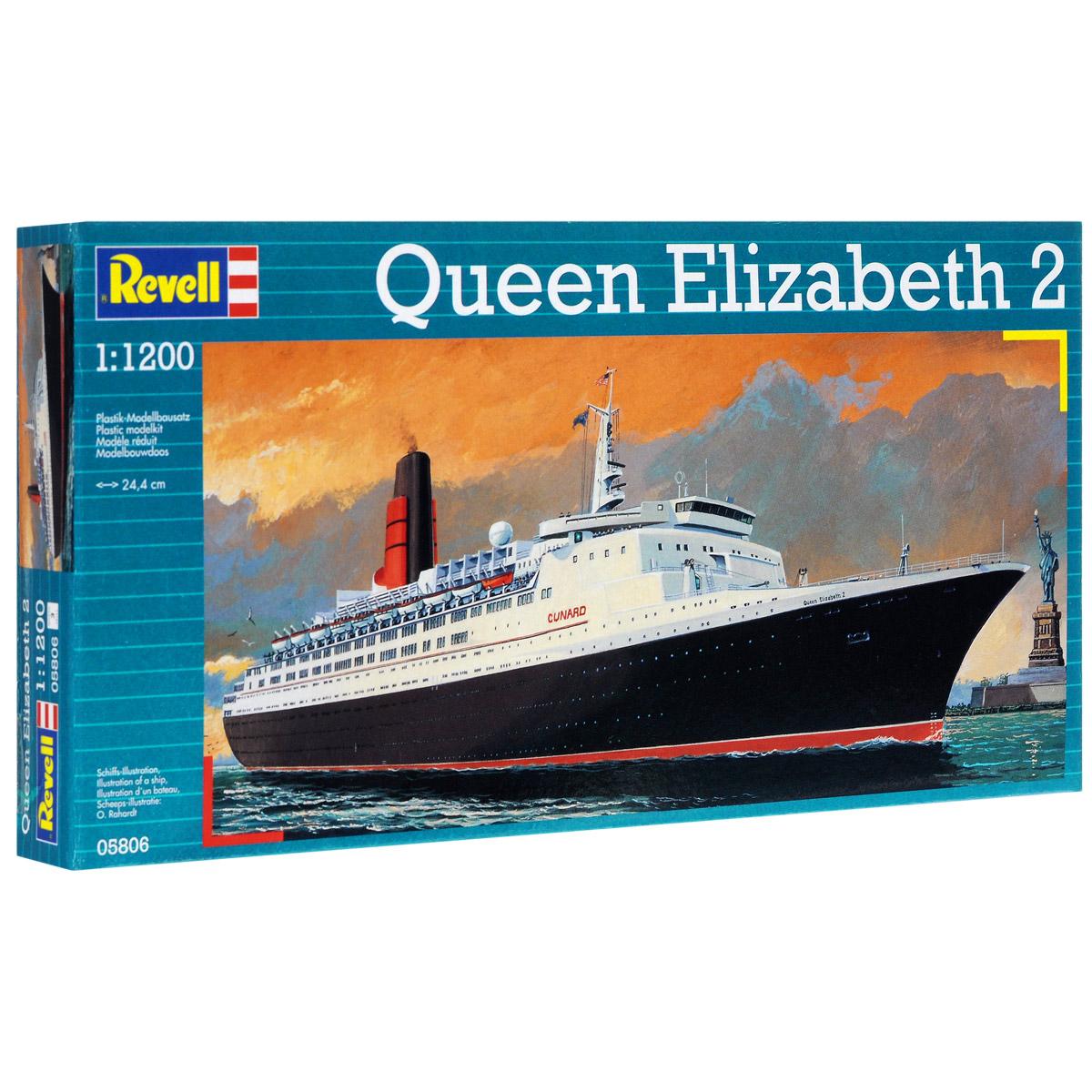 Сборная модель Revell Корабль Queen Elizabeth II05806Сборная модель Revell Корабль Queen Elizabeth II поможет вам и вашему ребенку придумать увлекательное занятие на долгое время. Набор включает в себя 36 пластиковых элементов, из которых можно собрать достоверную уменьшенную копию одноименного корабля. Судно было построено в 1969 году на верфи John Brown & Company в шотландском городе Clydebank. Свой первый рейс из Великобритании в США судно совершило в мае того же года. Лайнер способен перевозить до 2025 пассажиров и 970 членов экипажа. Queen Elizabeth II считается одним из самых удобных круизных лайнеров. Во время войны за Фолклендские острова в 1982 году осуществляла перевозку британских солдат. С 2010 года лайнер служит плавучим отелем. Также в наборе схематичная инструкция по сборке. Процесс сборки развивает интеллектуальные и инструментальные способности, воображение и конструктивное мышление, а также прививает практические навыки работы со схемами и чертежами. Уровень сложности: 3. ...