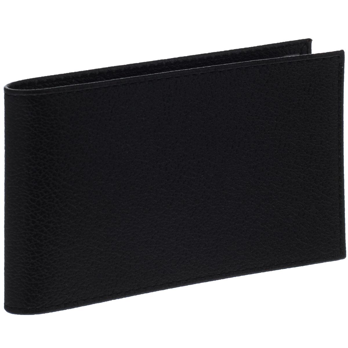 Визитница горизонтальная Askent, цвет: черный. V.1.LGV.1.LG чёрныйГоризонтальная визитница Askent изготовлена из натуральной кожи и исполнена в лаконичном стиле. Внутри содержится съемный блок из прозрачного мягкого пластика на 20 визиток, а также 2 удобных боковых кармана. Изделие упаковано в фирменную коробку. Стильная визитница подчеркнет вашу индивидуальность и изысканный вкус, а также станет замечательным подарком человеку, ценящему качественные и практичные вещи.