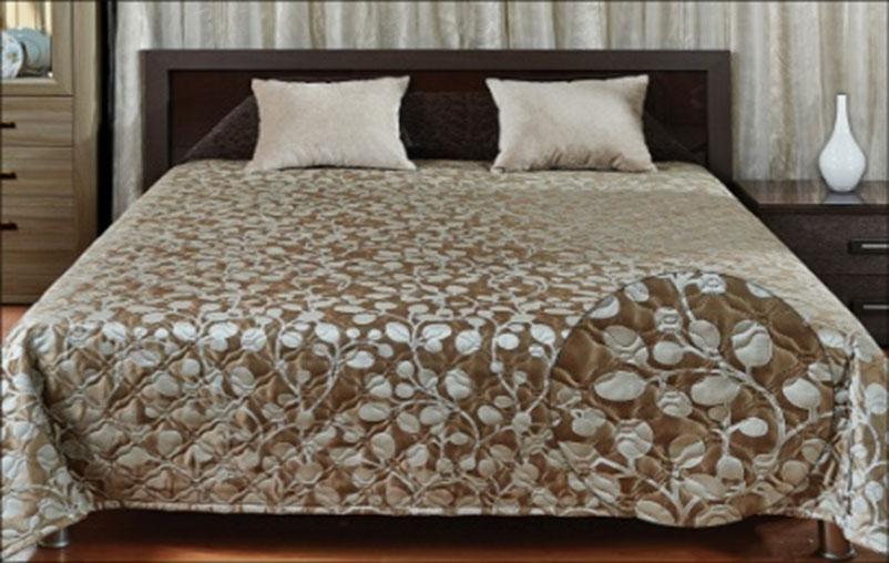 Покрывало Primavelle Livia, цвет: коричневый, 240 х 240 см251805022-06fСтильное покрывало Primavelle Livia, выполненное из вискозы и полиэстера, прекрасно дополнит ваш интерьер. Оригинальный жаккардовый рисунок покрывала и гладкий приятный на ощупь материал подчеркнут индивидуальность вашей спальни. Изделие изготовлено по современной технологии безниточного соединения тканей Ультрастеп. Такой метод стежки значительно продлевает срок службы покрывала и добавляет ему особую изюминку, благодаря художественной стежке. Покрывало упаковано в пластиковую сумку-чехол, закрывающуюся на застежку-молнию. Материал: 40% вискоза, 60% полиэстер.