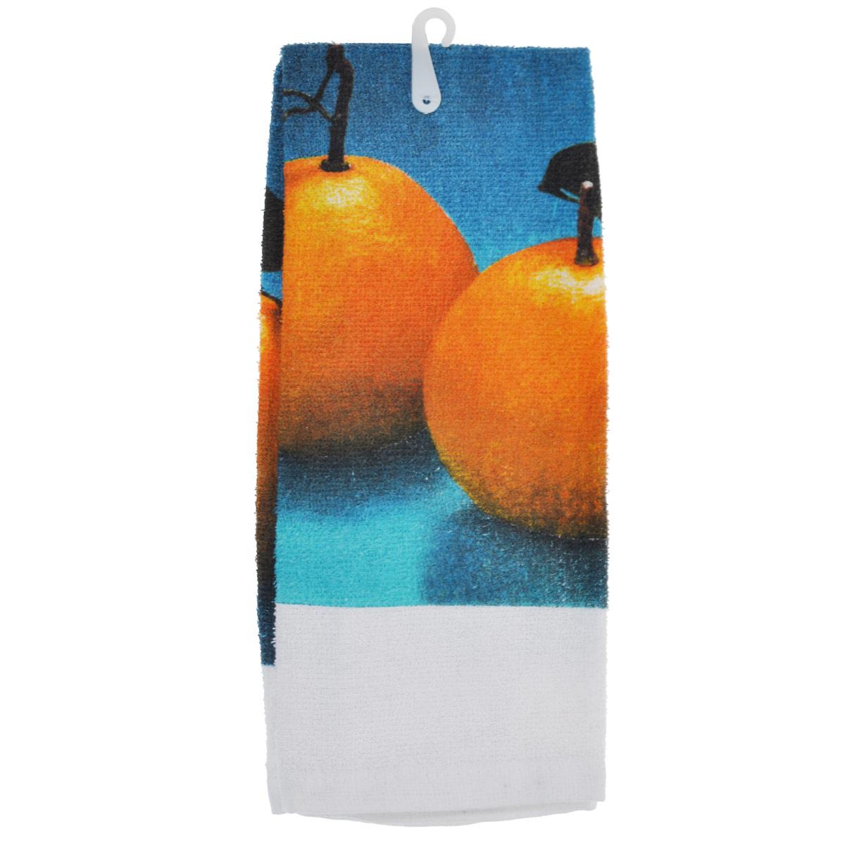 Полотенце кухонное Коллекция, 63 х 38 смПЛФ-2/гМахровое полотенце Коллекция, выполненное из натурального 100% хлопка, оформлено изображением красочным апельсинов. Полотенце предназначено для использования на кухне и в столовой. Полотенце Коллекция - отличный вариант для практичной и современной хозяйки.