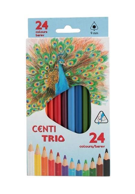 Набор трехгранных цветных карандашей Triocolor, 24 цвета3144/24Яркие цветные карандаши Triocolor в эргономичном трехгранном корпусе из натуральной древесины очень удобны для детей: не дают руке уставать, помогают правильно держать пишущий инструмент, тем самым формируют правильную постановку руки. Карандаши дают мягкую толстую линию (4 мм) насыщенного цвета. Рисовать такими карандашами - сплошное удовольствие. В наборе 24 цвета.