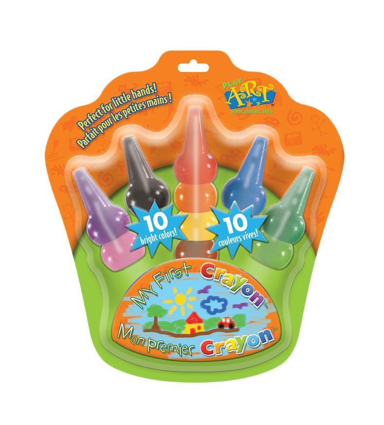Набор восковых карандашей, надеваемых на пальчики, 10 шт14105Восковые карандаши - отличный вариант для развития детского творчества. Воск имеет яркий, устойчивый к выцветанию, насыщенный цвет. Карандаши не пачкаются, не ломаются, отличаются яркими и насыщенными цветами, позволяют проводить мягкие и ровные штрихи. Ими можно рисовать на бумаге любого типа (кроме лощеной), на ватмане, тонком и плотном картоне, а также на дереве и других шероховатых поверхностях. При необходимости, рисунок стирается резинкой. А особый дизайн, который позволяет надевать их прямо на пальчики, делает процесс рисования еще интереснее и необычнее! Восковые карандаши идеальны для детских ручек!