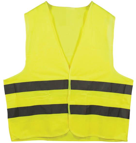 Жилет сигнальный SF Vest, цвет: желтый. Размер XXL12121Плотность 120 гр/м 2