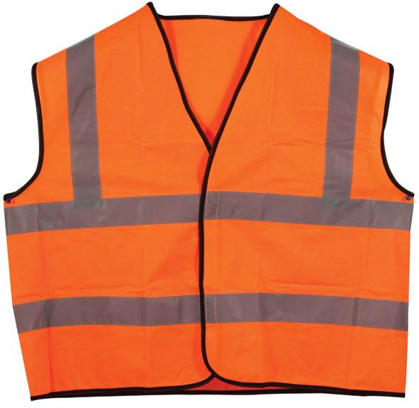 Жилет сигнальный SF Vest, цвет: оранжевый. Размер XXL