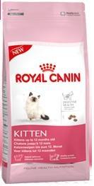 Корм сухой Royal Canin Kitten, для котят до 12 месяцев, 2 кг2423Сухой корм Royal Canin Kitten - полнорационный корм для котят до 12 месяцев. Здоровье пищеварительной системы. В течение периода роста пищеварительная система котенка остается несовершенной и продолжает постепенно развиваться в течение еще нескольких недель. Уникальная комбинация питательных веществ помогает поддерживать здоровое пищеварение котенка и нормализует стул. Легкоусвояемые белки (L.I.P.), адаптированное содержание клетчатки (в том числе подорожника и пребиотиков) способствует балансу кишечной микрофлоры. Естественная защита. Комплекс антиоксидантов и пребиотики, содержащиеся в продукте KITTEN, поддерживают естественные защитные силы котенка. Гармоничный рост. Сбалансированное содержание легкоусвояемых белков (L.I.P.), витаминов и минеральных веществ в продукте KITTEN способствует росту котенка, а также удовлетворяет его энергетические потребности в период интенсивного роста. LIP. Благодаря высокоусвояемым белкам L.I.P. (90%...