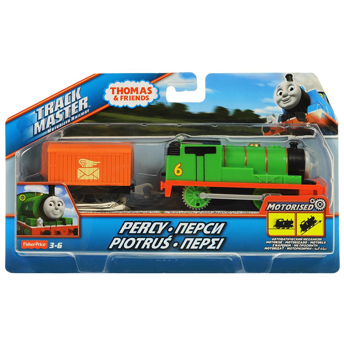 Thomas&Friends Базовый паровозик Перси, цвет: зеленый, красныйBMK87_BML07