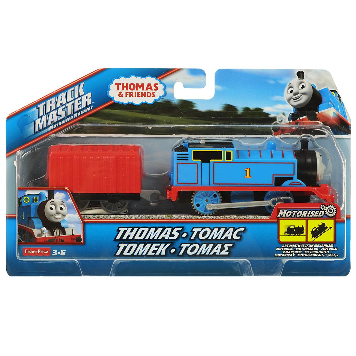 Thomas&Friends Базовый паровозик Томас, цвет: синий, красныйBMK87_BML06