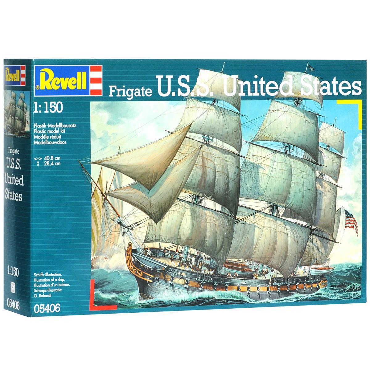 Сборная модель Revell Корабль U.S.S. United States05406Сборная модель Revell Корабль U.S.S. United States поможет вам и вашему ребенку придумать увлекательное занятие на долгое время. Набор включает в себя 105 пластиковых элементов, из которых можно собрать достоверную уменьшенную копию одноименного корабля. Американский фрегат Соединенные штаты один из трех 44-пушечных фрегатов, которые были заказаны Конгрессом США в конце восемнадцатого века. Корабль был спущен на воду в мае 1797 года. В ходе войны 1812 года морякам Соединенных штатов удалось захватить британский фрегат Македонянин. Во время гражданской войны фрегат был затоплен моряками Союза в гавани Норфолка. Также в наборе схематичная инструкция по сборке. Процесс сборки развивает интеллектуальные и инструментальные способности, воображение и конструктивное мышление, а также прививает практические навыки работы со схемами и чертежами. Уровень сложности: 4. УВАЖАЕМЫЕ КЛИЕНТЫ! Обращаем ваше внимание на тот факт, что элементы для...