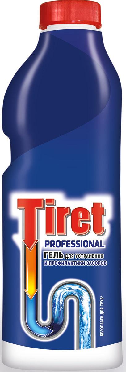 Гель для удаления засоров Tiret professional, 1 л7506506Гель Тiret professional предназначен для чистки труб. Гель эффективно устраняет очень сильные засоры лучше, чем традиционные методы и средства. Густая структура геля позволяет продукту проникать глубоко в трубу даже при наличии воды в раковине. Убивает бактерии и устраняет неприятный запах. Характеристики: Объем: 1 л. Товар сертифицирован.
