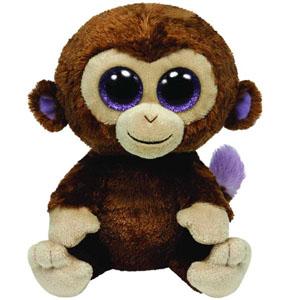 Мягкая игрушка Beanie Boos Обезьянка Coconut, 23 см36901Очаровательная мягкая игрушка Обезьянка Coconut, выполненная в виде милой мартышки с большими глазками, вызовет умиление и улыбку у каждого, кто ее увидит. Она станет замечательным подарком, как ребенку, так и взрослому. Удивительно мягкая игрушка принесет радость и подарит своему обладателю мгновения нежных объятий и приятных воспоминаний. Специальные гранулы, используемые при ее набивке, способствуют развитию мелкой моторики рук малыша. Великолепное качество исполнения делают эту игрушку чудесным подарком к любому празднику.