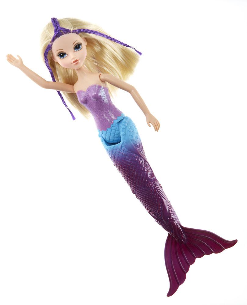 Moxie Кукла Русалочка Эйвери530961Эйвери - ослепительная красавица со светлыми длинными волосами и румянцем на щечках. Она превратилась в сверкающую волшебную русалочку! Вместо ног у куклы - хвост русалки, который меняет свой цвет в теплой воде. Голова, руки и хвост куколки подвижны. Эйвери может плыть как настоящая русалочка! Это незабываемые ощущения, так как кукла буквально оживает на глазах. С такой подружкой купание вашей малышки превратится в веселую игру. Порадуйте ее таким замечательным подарком! Куклы MOXIE покоряют девочек своей красотой! Они представляют собой современных подростков, которые учатся в школе, отдыхают в кафе и клубах, ходят на дискотеки, катаются на роликах, ведут дневники, следят за модой и своей фигурой, внешностью. В общем, образ жизни такой же, как у любой современной девочки. Кукла из коллекции MOXIE станет настоящей подружкой для своей юной обладательницы! Необходимо докупить 2 батарейки напряжением 1,5V типа AAA (не входят в комплект).
