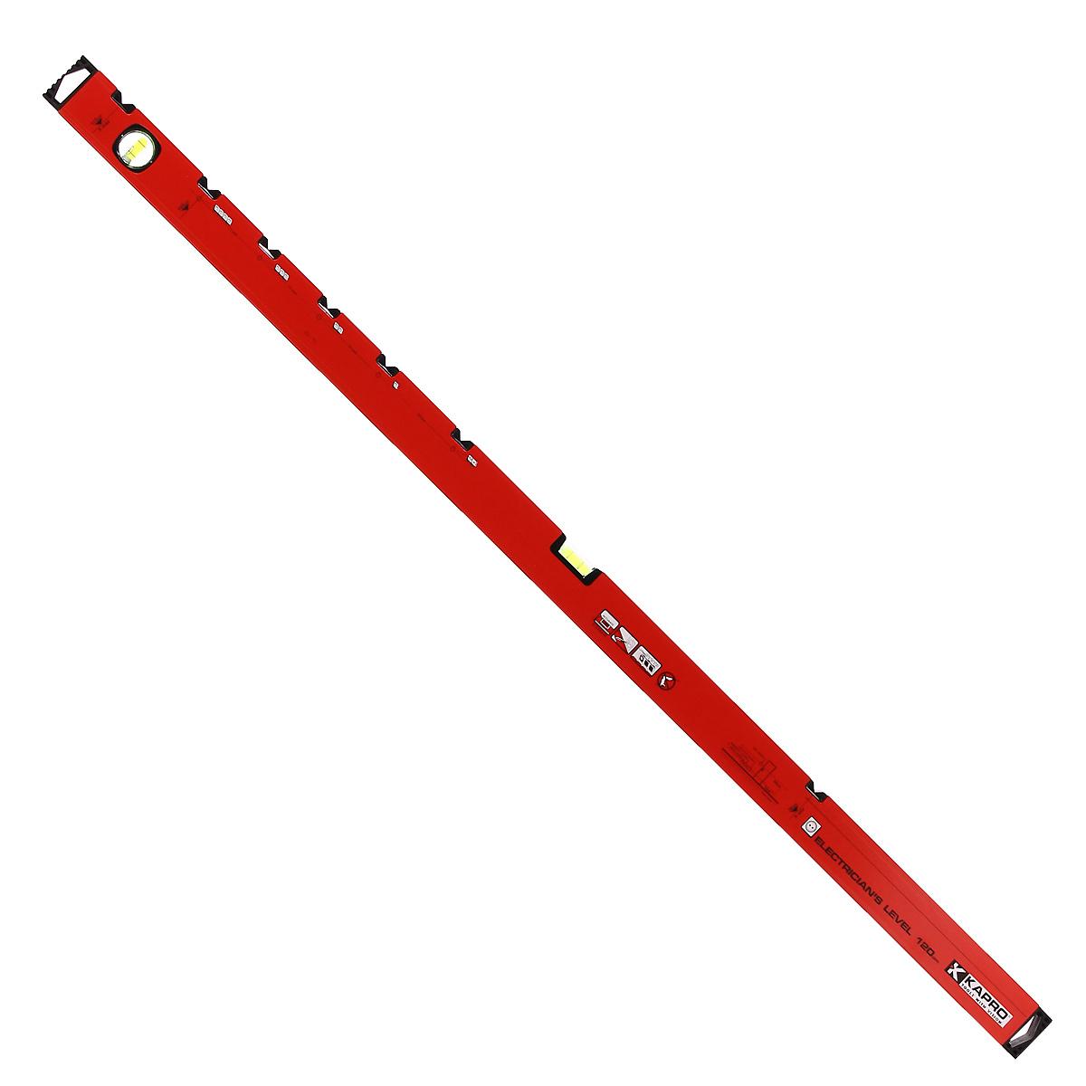 Уровень для электрика Kapro, 2 колбы, 120 см