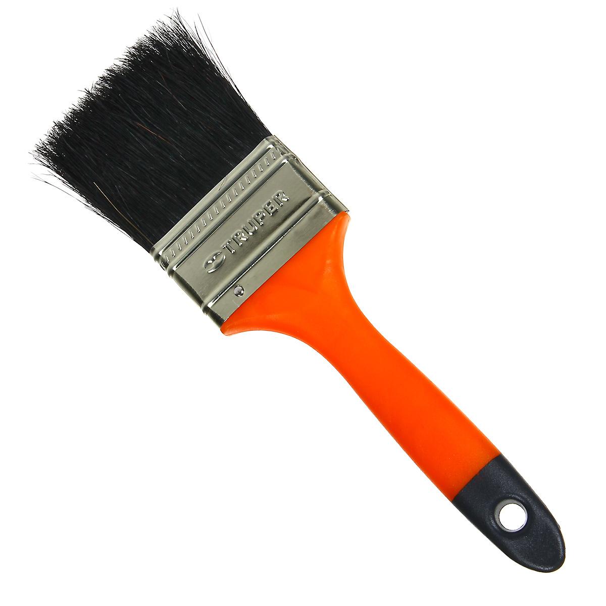 Кисть малярная Truper, с пластиковой ручкой, щетина из конского волоса, 50,8 мм