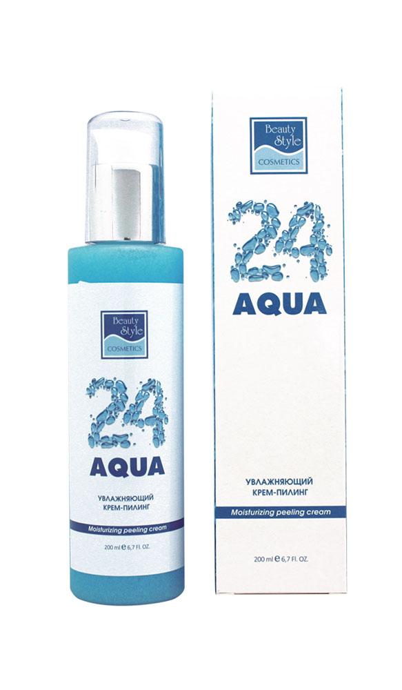 Beauty Style Крем-пилинг для лица Aqua 24, увлажняющий, 200 мл4515703Деликатно очищая кожу от загрязнений, отмерших клеток и избытка кожного сала, крем-пилинг Aqua 24 придает коже гладкость и мягкость, стимулирует процессы обновления кожи и сохраняет необходимый уровень увлажнения. Обеспечивает оптимальную подготовку кожи к последующим процедурам (нанесение масок, сывороток, аппаратные воздействия и другие). Протеины овса питают кожу, оказывают антиоксидантное действие, замедляют процессы старения. Обеспечивают необходимый уровень влаги в коже, придают ей гладкость и мягкость. Порошок скорлупы грецкого ореха обеспечивает тщательное и бережное отшелушивание, стимулирует процессы регенерации, препятствует возникновению воспалений. Сквален повышает сопротивляемость кожи воздействию внешних факторов, укрепляя гидролипидную мантию кожи. Экстракт розы (розовая вода) превосходно улучшает цвет лица, тонизирует кожу, способствует устранению раздражений, освежает и увлажняет кожу. Масло жожоба смягчает и защищает кожу,...