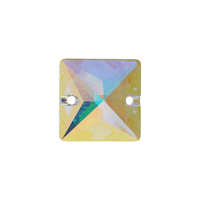 Камень нашивной Swarovski Elements, 16 мм. 691214691214Камень нашивной Swarovski Elements, изготовленный из пластика, позволит вам своими руками создать оригинальное украшение. Изделие оснащено отверстиями для продевания нити. Изготовление украшений - это занимательное хобби, это реализация творческих способностей рукодельницы, это возможность создания неповторимого индивидуального подарка.