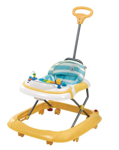 Ходунки Happy Baby Mario, цвет: желтый4690624014369Лёгкие и маневренные ходунки Mario научат первым шагам, а яркий дизайн и множество интересных игрушек не оставят малыша равнодушным. Стильные легкие ходунки Mario помогут вашему малышу беспрепятственно передвигаться по дому! Для удобства мамы предусмотрена съемная ручка. Цветная панель с разнообразными игрушками обязательно привлечет внимание малыша и займет его на некоторое время, а вы сможете немного передохнуть, наблюдая, как ваш ребенок играет. Игровая панель легко снимается, превращаясь в столик с подстаканником. Восемь силиконовых колес не поцарапают напольное покрытие, а две кнопки стопора позволяют контролировать передвижение ребенка. Игровая панель работает от 2-х пальчиковых батареек (тип АА). Игровая панель со звуковыми эффектами Съемная ручка Развивающие игрушки Развивают координацию движений Учат ребенка держать равновесие Съемная игровая панель Регулируются по высоте Съемный чехол Силиконовые колеса