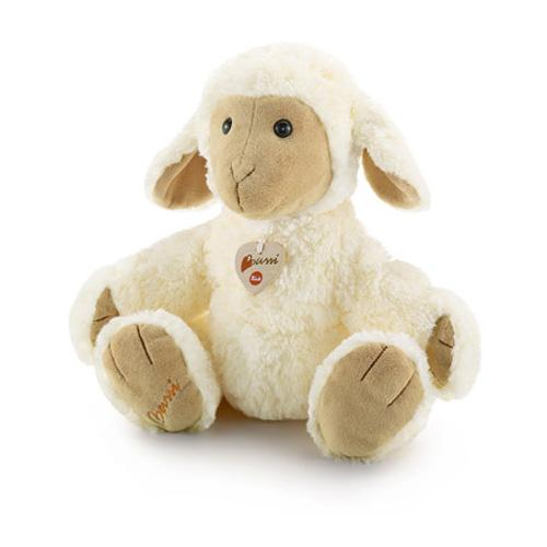 Trudi Овечка, 38см13679Очаровательная мягкая игрушка Trudi Овечка выполнена в виде милой овечки. Игрушка изготовлена из высококачественного текстильного материала с набивкой из полиэстера. Пластиковые гранулы, использованные при ее набивке, способствуют развитию мелкой моторики рук ребенка. Игрушка невероятно мягкая и приятная на ощупь, благодаря чему вам не захочется выпускать ее из рук. Глазки овечки изготовлены из пластика. На шее у овечки - текстильное сердечко на шнурке. Небольшой размер позволит малышу всюду брать ее с собой - на прогулку, в детский сад или в поездку. Игрушка не может стоять самостоятельно. Удивительно мягкая игрушка принесет радость и подарит своему обладателю мгновения нежных объятий и приятных воспоминаний. Великолепное качество исполнения делают эту игрушку чудесным подарком к любому празднику. Трогательная и симпатичная, она непременно вызовет улыбку у детей и взрослых.