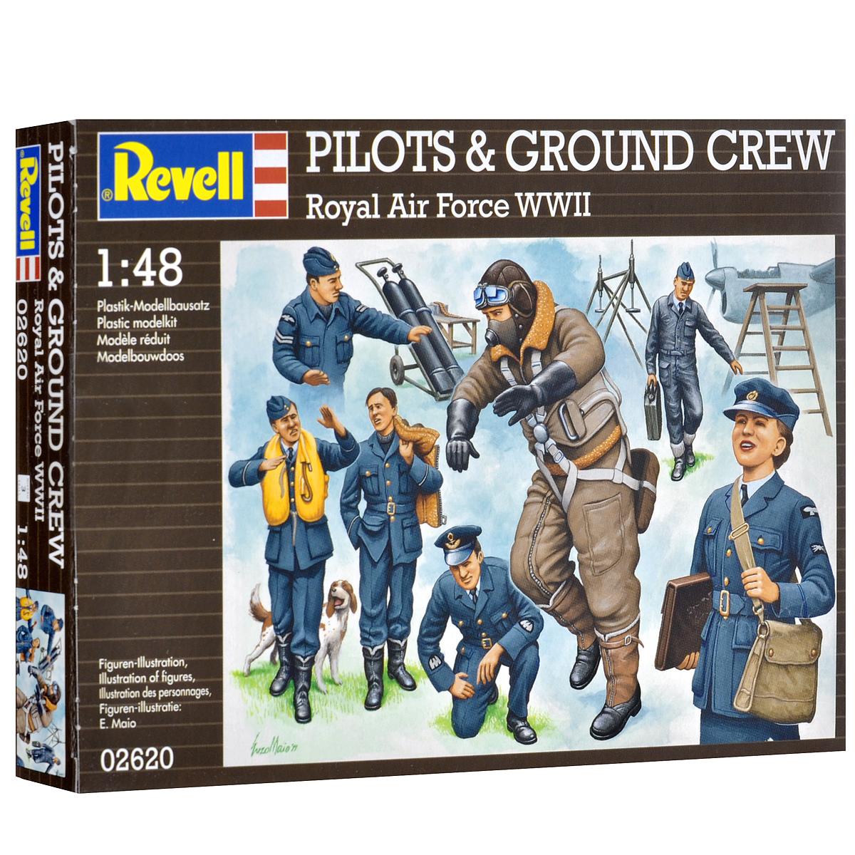 Набор миниатюр Revell Пилоты и наземная команда Британских ВВС2620В комплект набора миниатюр Revell Пилоты и наземная команда Британских ВВС входят 7 пластиковых неокрашенных фигурок в виде пилотов британских ВВС из экипажей 1935-1945 гг и наземный персонал. Реалистичный вид пилотов и сотрудников наземных служб позволит воспроизвести события минувших дней. Английские пилоты демонстрировали возможности ведения воздушного боя и чудеса пилотирования во время Второй Мировой Войны. А наземный персонал без устали помогал им в этом. Кроме фигурок людей в наборе имеются фигурка собаки, а также такое оборудование, как верстак, платформы, газовые баллоны. В наборе 85 элементов, включающих в себя фигурки и аксессуары для игры, а также схематичная инструкция по сборке и покраске элементов на русском языке. Занимаясь раскраской фигур и играя с ними, ребенок сможет развивать ловкость, мелкую моторику рук, терпение усидчивость, а также получит исторические знания. Уровень сложности: 3. Клей и краски в комплект не входят.