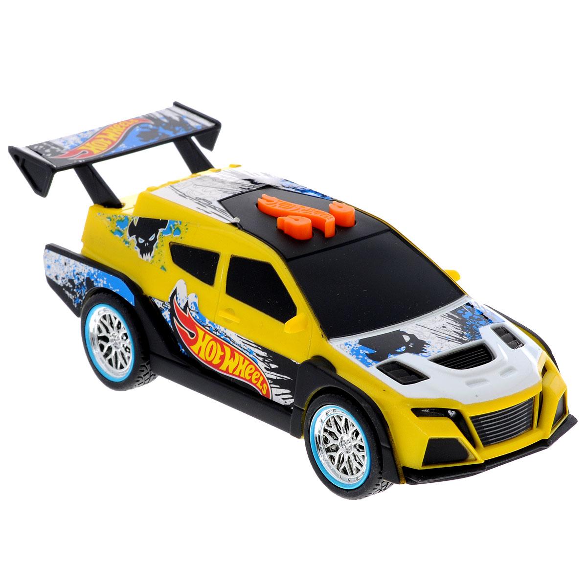 Hot Wheels Машинка Жми на газ цвет желтый