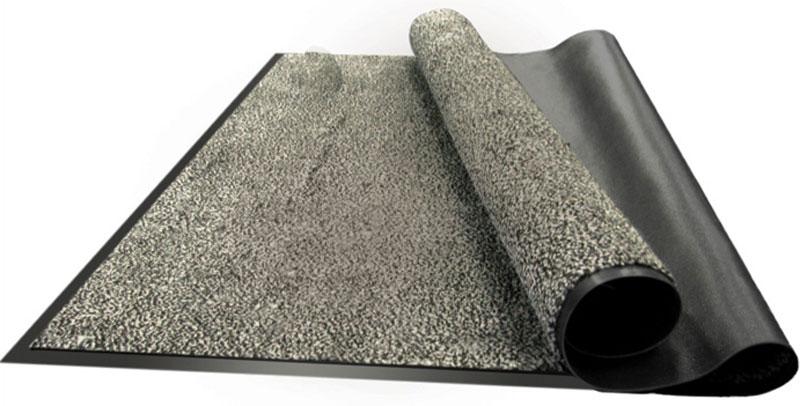 Коврик придверный Vortex Профи, влаговпитывающий, цвет: серый, 90 х 120 см22126Влаговпитывающий придверный коврик Vortex Профи выполнен из ПВХ и полиэстера. Он прост в обслуживании, прочный и устойчивый к различным погодным условиям. Лицевая сторона коврика мягкая. Прорезиненная основа предотвращает его скольжение по гладкой поверхности и обеспечивает надежную фиксацию. Такой коврик надежно защитит помещение от уличной пыли и грязи.