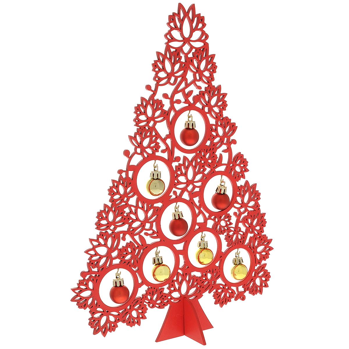 Украшение Edelman Рождественский лось White 1017854