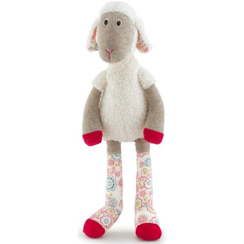 Мягкая игрушка Trudi Овечка Луиза, 33 см19403Очаровательная мягкая игрушка Trudi Овечка Луиза выполнена в виде трогательной овечки. Луиза изготовлена из высококачественного текстильного материала. Игрушка невероятно мягкая и приятная на ощупь, вам не захочется выпускать ее из рук. Тело и лапки овечки имеют разную фактуру, что способствует развитию тактильных навыков малыша. Ножки и ушки овечки оформлены вставкой с ярким принтом. Удивительно мягкая игрушка принесет радость и подарит своему обладателю мгновения нежных объятий и приятных воспоминаний. Специальные гранулы, используемые при ее набивке, способствуют развитию мелкой моторики рук малыша. Великолепное качество исполнения делают эту игрушку чудесным подарком к любому празднику. Трогательная и симпатичная, она непременно вызовет улыбку у детей и взрослых.