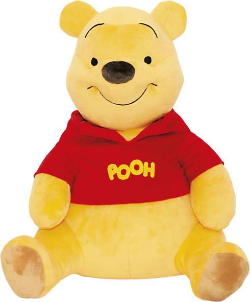 Мягкая озвученная игрушка Disney Медвежонок Винни, 58 смVNN2\MМягкая игрушка Disney Винни станет любимой игрушкой вашего ребенка. Она выполнена в виде медвежонка Винни-Пуха - главного героя популярного диснеевского мультсериала о приключениях Винни-Пуха и его друзей. Игрушка удивительно приятна на ощупь. Она изготовлена из мягкого текстильного материала желтого цвета, глазки вышиты нитками. Медвежонок одет в красную кофточку с надписью Pooh. Медвежонок говорит фразы: Привет, малыш! Не одолжишь ли немножечко меда? Совсем чуточку Счастье - это когда во рту сладко, а в животике сытно от меда Ох, поскорее бы завтрак, пора бы и подкрепиться! Меда ни капли, а животик по-прежнему пуст Ух ты, какой сладко-приятный сюрприз!. Медвежонок Винни забавно смеется. Чудесная мягкая игрушка принесет радость и подарит своему обладателю мгновения нежных объятий и приятных воспоминаний. Компания Disney предъявляет большие требования к качеству продукции: все...