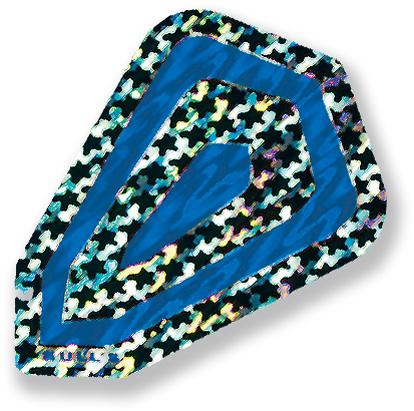 "Набор оперений для дротиков Bull's ""Fantasy-Flights"", цвет: синий, 3 см х 4,3 см 52866"