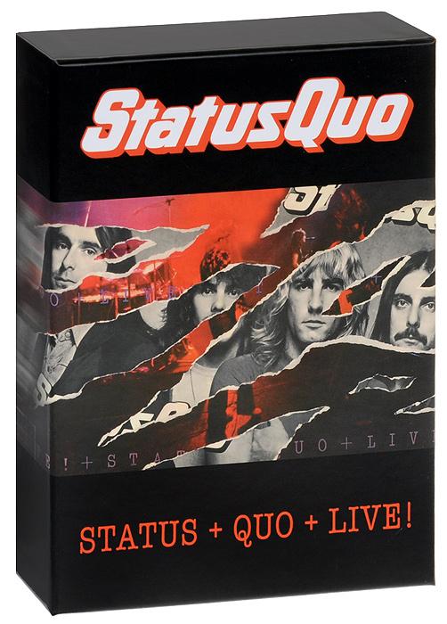 Status Quo. Status / Quo / Live (4 CD)
