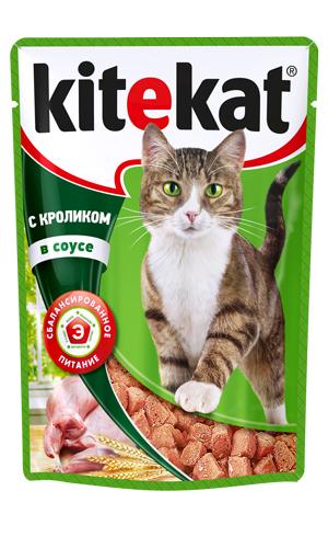Консервы Kitekat для взрослых кошек, с кроликом в соусе, 100 г10176Консервы для взрослых кошек Kitekat - полнорационный сбалансированный корм для кошек, который идеально подойдет вашему любимцу. Корм приготовлен по особому рецепту, в его основе - формула сбалансированного питания, которая содержит белки, минералы, витамины, таурин, и животные жиры. Kitekat - это идеальный источник жизненных сил для кошки. Порадуйте вашего питомца обновленным меню в пакетиках. В каждой порции - только качественные продукты, как и те, что хранятся на вашей кухне. Корм не содержит сои, консервантов, ароматизаторов, искусственных красителей, усилителей вкуса. Состав: мясо и субпродукты (в том числе кролик минимум 4%), злаки, таурин, витамины, минеральные вещества. Анализ: белки - 6,5 г, жиры - 3,5 г, клетчатка - 0,5 г, зола - 2,5 г, витамин А - не менее 70 МЕ мг, витамин Е - не менее 0,9 мг, влага - 84 г. Вес 100 г. Товар сертифицирован.